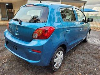 2018 Mitsubishi Mirage LA MY18 ES Blue 1 Speed Constant Variable Hatchback.