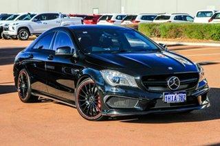 2013 Mercedes-Benz CLA-Class C117 CLA45 AMG SPEEDSHIFT DCT 4MATIC Black 7 Speed.