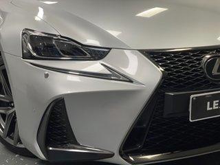 2017 Lexus IS GSE31R IS350 F Sport Silver 8 Speed Sports Automatic Sedan.