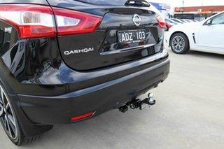 2015 Nissan Qashqai J11 TL Black 1 Speed Constant Variable Wagon.