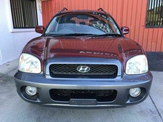 2004 Hyundai Santa Fe SM MY04 Elite GL Maroon 4 Speed Sports Automatic Wagon.