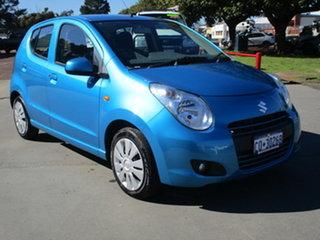 2013 Suzuki Alto GF GL 5D Hatchback Blue 4 Speed Automatic Hatchback.