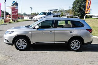 2021 Mitsubishi Outlander ZL MY21 ES 2WD Sterling Silver 6 Speed Constant Variable Wagon