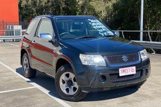 2007 Suzuki Grand Vitara JT (4x4) Black 5 Speed Manual Wagon.