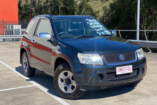 Used Suzuki Grand Vitara JT (4x4) Morayfield, 2007 Suzuki Grand Vitara JT (4x4) Black 5 Speed Manual Wagon