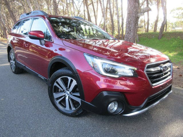 Used Subaru Outback B6A MY18 2.5i CVT AWD Premium Reynella, 2018 Subaru Outback B6A MY18 2.5i CVT AWD Premium Red/fleather 7 Speed Constant Variable Wagon