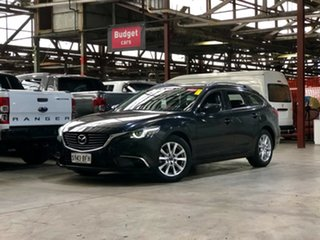 2014 Mazda 6 GJ1022 GT SKYACTIV-Drive Black 6 Speed Sports Automatic Wagon.