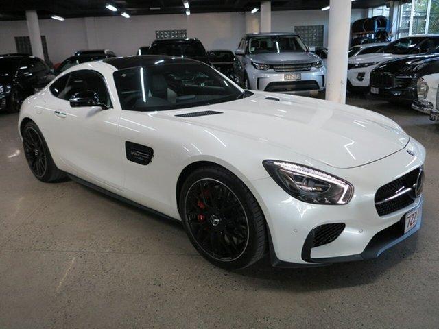 Used Mercedes-Benz AMG GT C190 807MY S SPEEDSHIFT DCT Albion, 2017 Mercedes-Benz AMG GT C190 807MY S SPEEDSHIFT DCT Diamond White 7 Speed