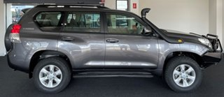 2010 Toyota Landcruiser Prado KDJ150R GXL Grey 6 Speed Manual Wagon.