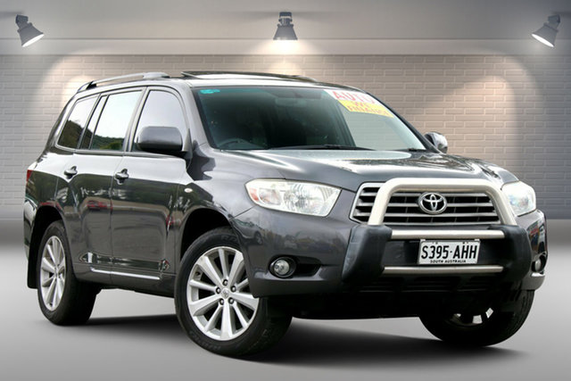 Used Toyota Kluger GSU40R Altitude 2WD Gepps Cross, 2010 Toyota Kluger GSU40R Altitude 2WD Grey 5 Speed Sports Automatic Wagon
