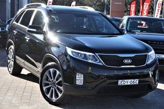2013 Kia Sorento XM MY13 Platinum 4WD Black 6 Speed Sports Automatic Wagon.