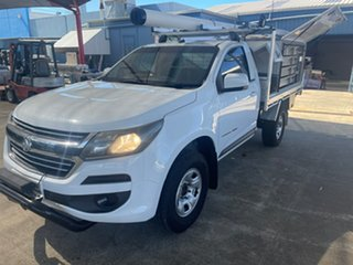 2016 Holden Colorado RG MY17 LS (4x4) White 6 Speed Automatic Cab Chassis