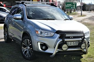 2016 Mitsubishi ASX XB MY15.5 XLS Silver 6 Speed Sports Automatic Wagon.
