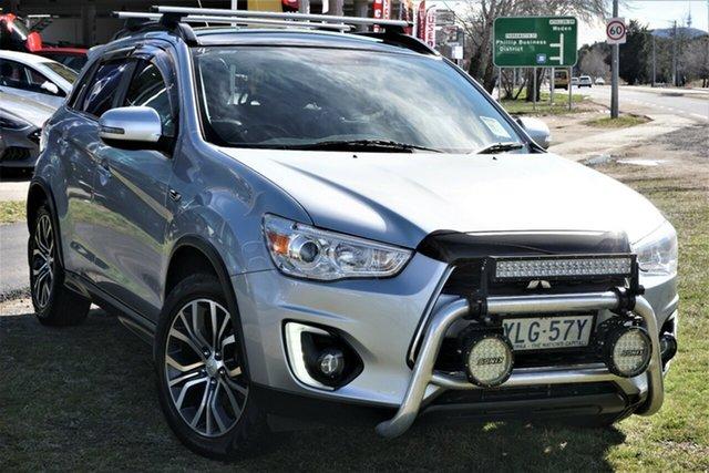 Used Mitsubishi ASX XB MY15.5 XLS Phillip, 2016 Mitsubishi ASX XB MY15.5 XLS Silver 6 Speed Sports Automatic Wagon