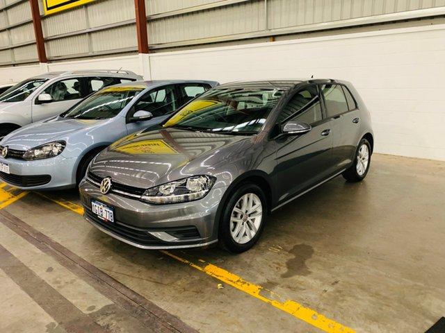 Used Volkswagen Golf 7.5 MY17 110TSI Canning Vale, 2017 Volkswagen Golf 7.5 MY17 110TSI Grey 6 Speed Manual Hatchback