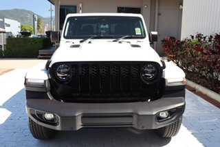 2021 Jeep Gladiator JT MY21 V2 Night Eagle Pick-up Bright White 8 Speed Automatic Utility.