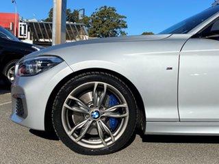 2016 BMW M135i F20 LCI Glacier Silver 8 Speed Automatic Hatchback.