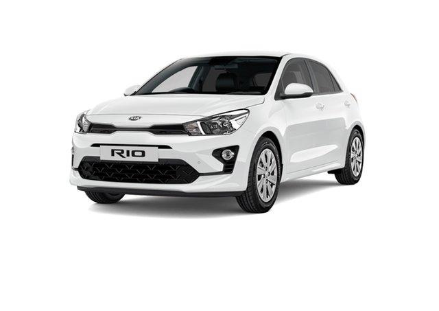 New Kia Rio YB MY21 S Cardiff, 2021 Kia Rio YB MY21 S Clear White 6 Speed Automatic Hatchback