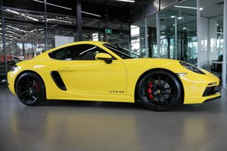 2020 Porsche 718 982 MY21 Cayman GTS 4.0 Yellow 6 Speed Manual Coupe