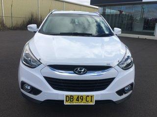 2014 Hyundai ix35 Series II SE White Sports Automatic.