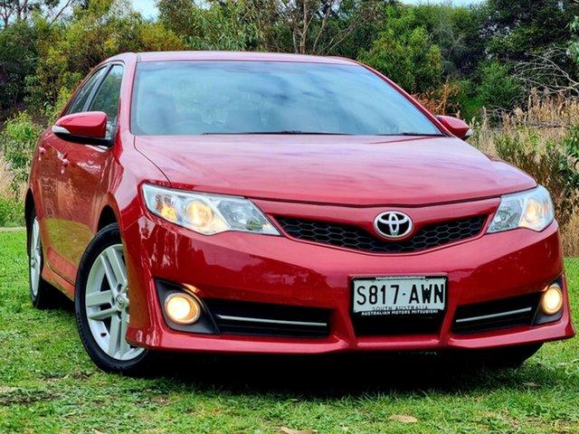 Used Toyota Camry ASV50R Atara S Morphett Vale, 2013 Toyota Camry ASV50R Atara S Red 6 Speed Sports Automatic Sedan