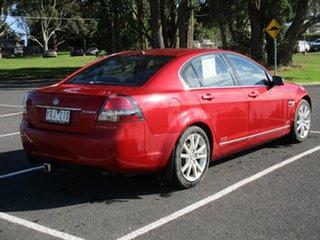 2011 Holden Calais VE II . Red Automatic Sedan.