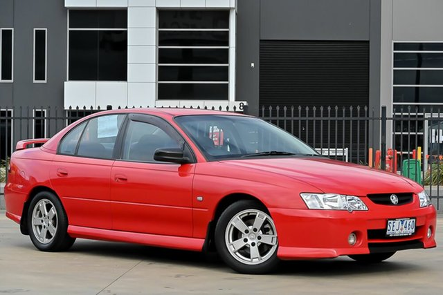 Used Holden Commodore VY S Pakenham, 2003 Holden Commodore VY S Red 5 Speed Manual Sedan