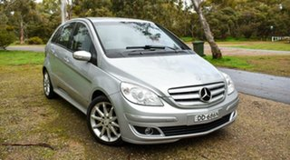 2006 Mercedes-Benz B-Class W245 B180 CDI Silver 7 Speed Constant Variable Hatchback.
