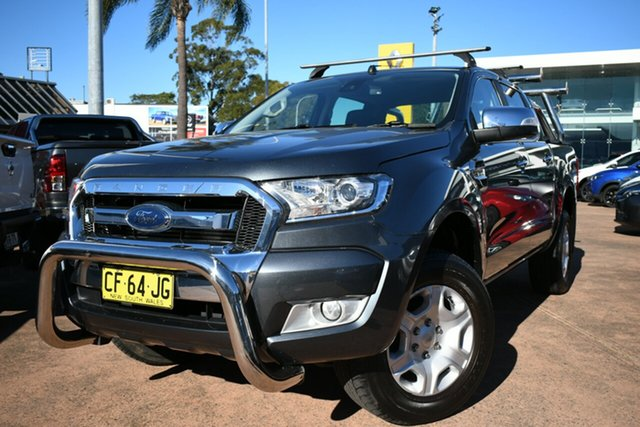 Used Ford Ranger PX MkII XLT 3.2 (4x4) Brookvale, 2015 Ford Ranger PX MkII XLT 3.2 (4x4) Blue 6 Speed Automatic Double Cab Pick Up
