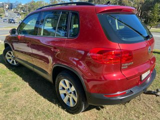 2012 Volkswagen Tiguan 5N MY12.5 132TSI Tiptronic 4MOTION Pacific Red 6 Speed Sports Automatic Wagon