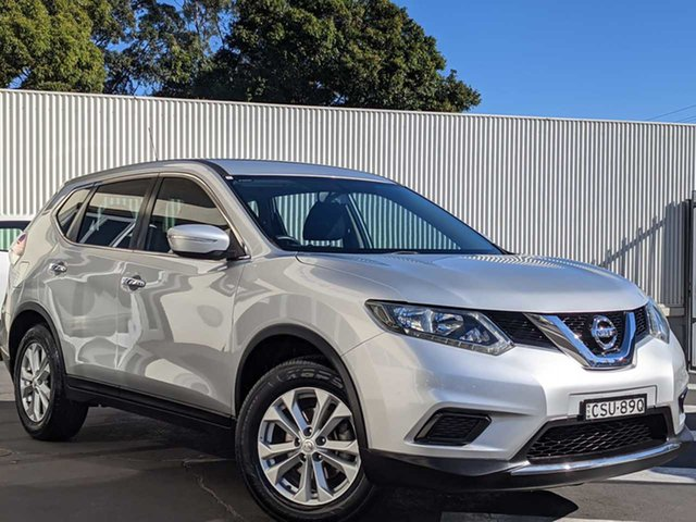 Used Nissan X-Trail T32 ST X-tronic 2WD Wollongong, 2014 Nissan X-Trail T32 ST X-tronic 2WD Silver 7 Speed Constant Variable Wagon