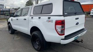 2012 Ford Ranger PX XL 2.2 (4x4) White 6 Speed Automatic Crew Cab Utility