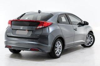 2013 Honda Civic 9th Gen MY13 VTi-S Grey 5 Speed Sports Automatic Hatchback.