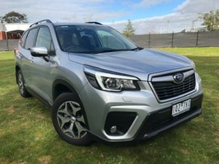 2019 Subaru Forester MY19 2.5I (AWD) Silver Metallic Continuous Variable Wagon.