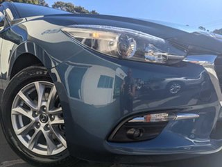2017 Mazda 3 BN5478 Touring SKYACTIV-Drive Eternal Blue 6 Speed Sports Automatic Hatchback.