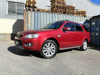 2010 Ford Territory SY MkII Ghia AWD Red 6 Speed Sports Automatic Wagon