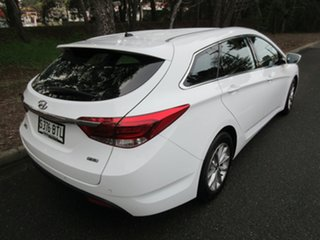 2017 Hyundai i40 VF4 Series II Active Tourer Pure White/euro Blac 6 Speed Sports Automatic Wagon.