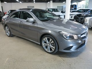 2013 Mercedes-Benz CLA-Class C117 CLA200 DCT Grey 7 Speed Sports Automatic Dual Clutch Coupe.