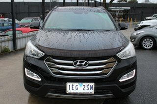2014 Hyundai Santa Fe DM MY14 Highlander Black 6 Speed Sports Automatic Wagon.