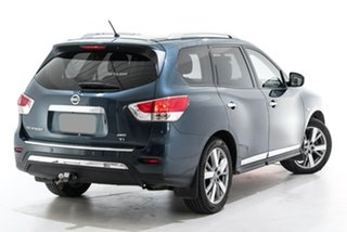 2014 Nissan Pathfinder R52 MY14 Ti X-tronic 4WD Blue 1 Speed Constant Variable Wagon.