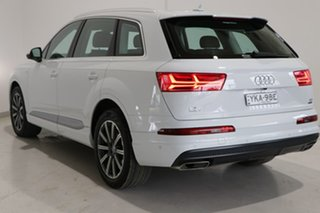 2015 Audi Q7 4M MY16 TDI Tiptronic Quattro White 8 Speed Sports Automatic Wagon.