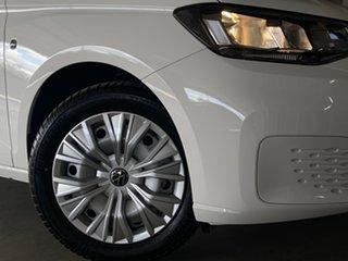 2021 Volkswagen Caddy SK MY21 TDI320 Maxi DSG White 7 Speed Sports Automatic Dual Clutch Wagon