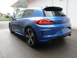 2015 Volkswagen Scirocco 1S MY16 R Coupe DSG Blue 6 Speed Sports Automatic Dual Clutch Hatchback