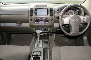 2007 Nissan Navara D40 ST-X (4x4) White 5 Speed Automatic Dual Cab Pick-up