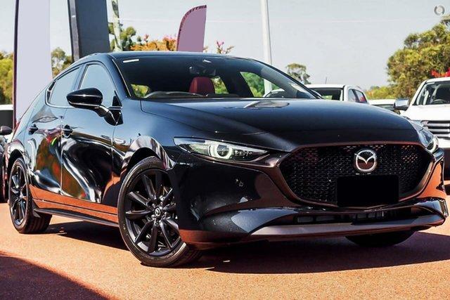Demo Mazda 3 BP2HLA G25 SKYACTIV-Drive Astina Narre Warren, 2021 Mazda 3 BP2HLA G25 SKYACTIV-Drive Astina Black 6 Speed Sports Automatic Hatchback