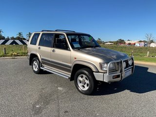 2002 Holden Jackaroo U8 LWB (4x4) Gold 4 Speed Automatic 4x4 Wagon.