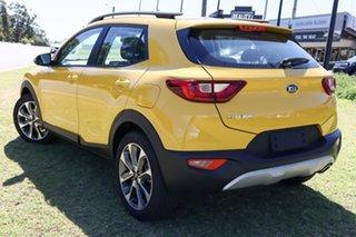 2021 Kia Stonic YB MY22 Sport FWD Mighty Yellow 6 Speed Automatic Wagon.