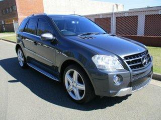 2009 Mercedes-Benz M-Class W164 MY10 ML300 CDI BlueEFFICIENCY AMG Sports Grey 7 Speed.