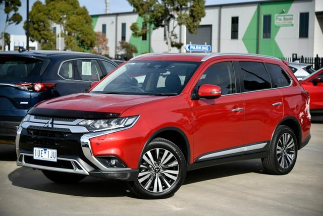 Used Mitsubishi Outlander ZL MY19 Exceed AWD Pakenham, 2019 Mitsubishi Outlander ZL MY19 Exceed AWD Red 6 Speed Constant Variable Wagon