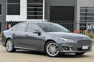 2016 Ford Falcon FG X G6E Grey 6 Speed Sports Automatic Sedan.
